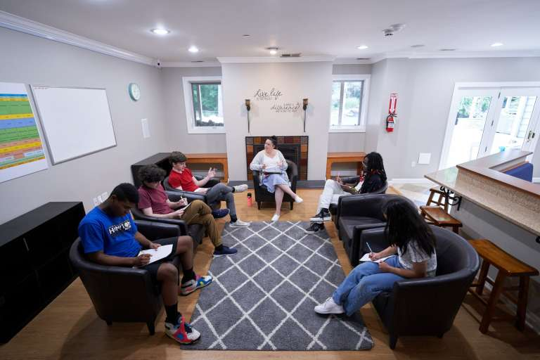 Mary Rehab Group Therapy